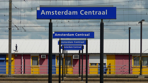 Amsterdam Centraal Station, Flickr, nothing to hide