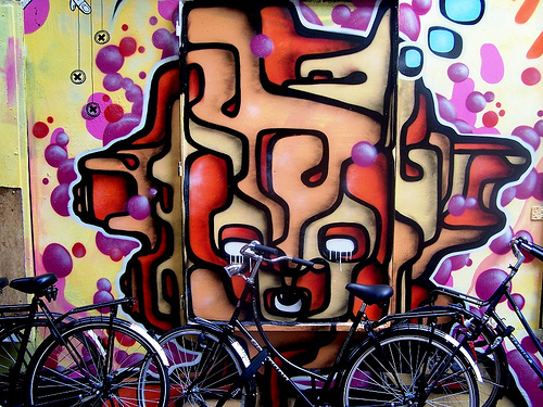 Amsterdam Graffiti, Flickr, geoftheref