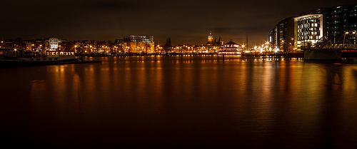 Amsterdam Skyline, Flickr, Dennis Burger