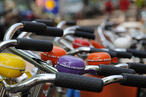 Bikes and bells in Amsterdam, Flickr, Shokichka