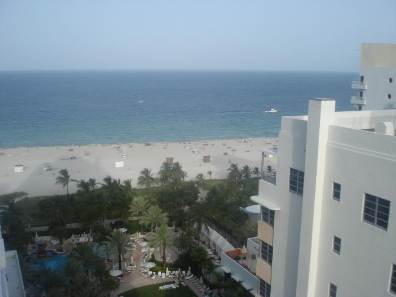 View from Loews Miam Beach Hotel
