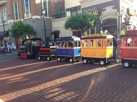 Kids Train, Atlantic Station, Atlanta GA