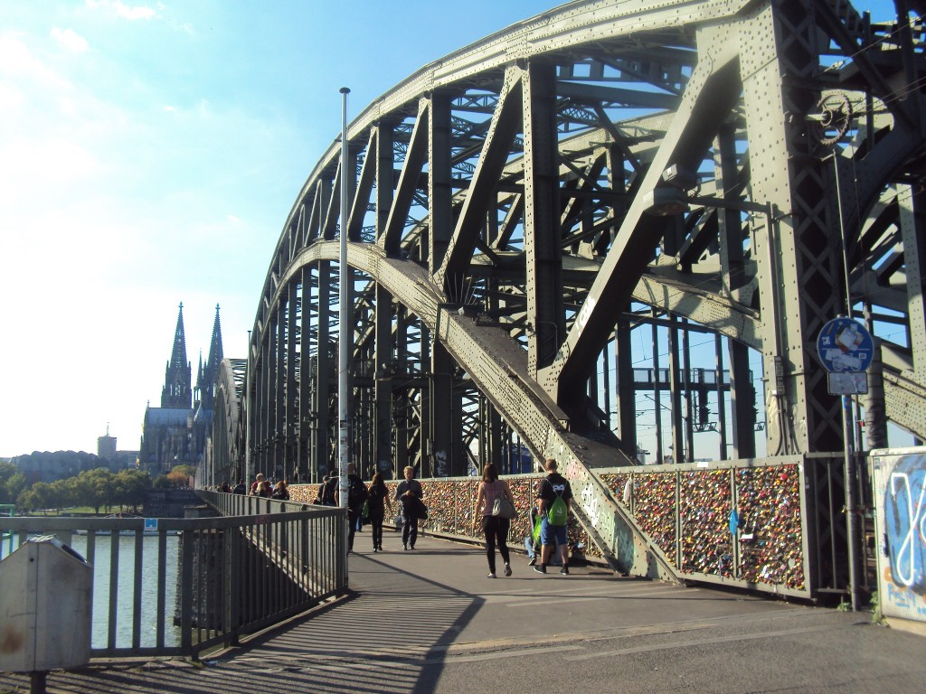 Hohenzollem bridge, Germany