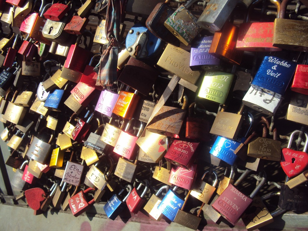 Love Lock Bridge Germany