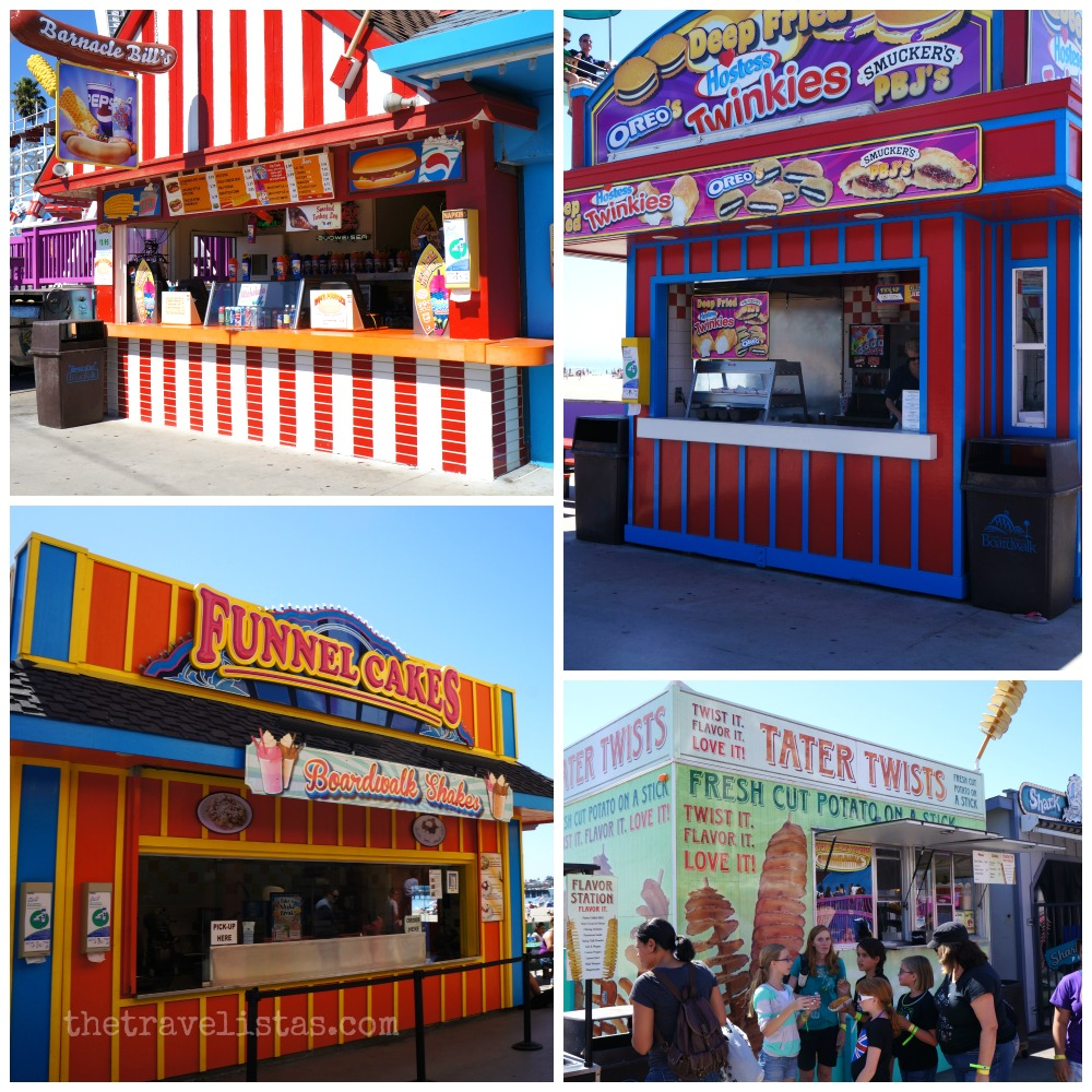Food at Santa Cruz Beach Boardwalk