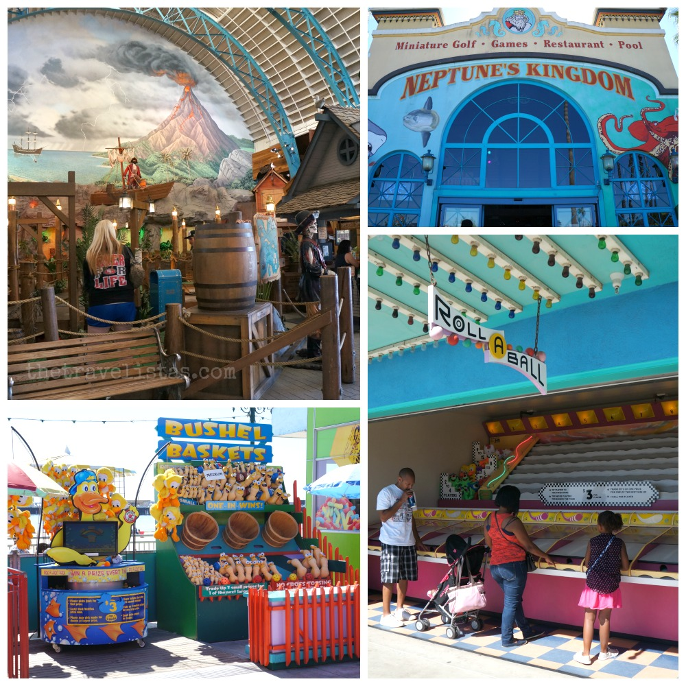 Mini golf and carnival games, Santa Cruz Beach Boardwalk