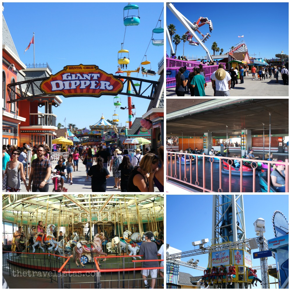 Rides at Santa Cruz Beach Boardwalk