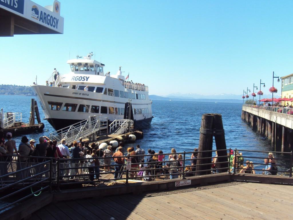 Argosy Cruise boat, Seattle
