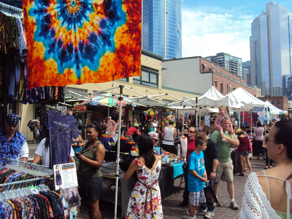 Seattle Market, Pikes Place