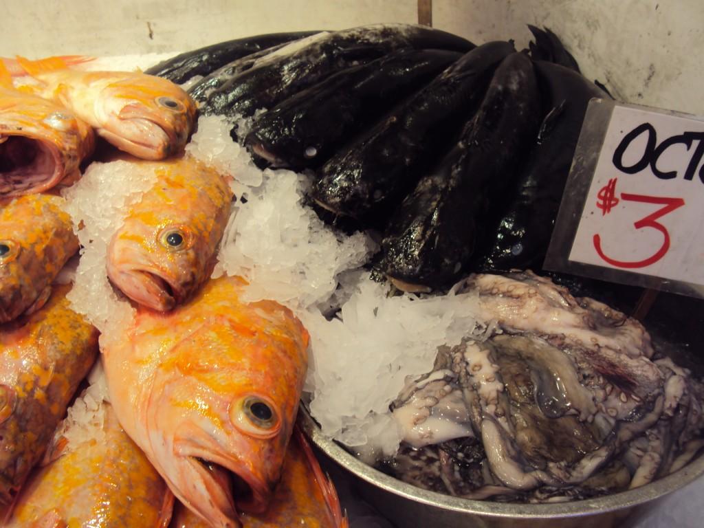 fresh fish, Pikes Place Market Seattle