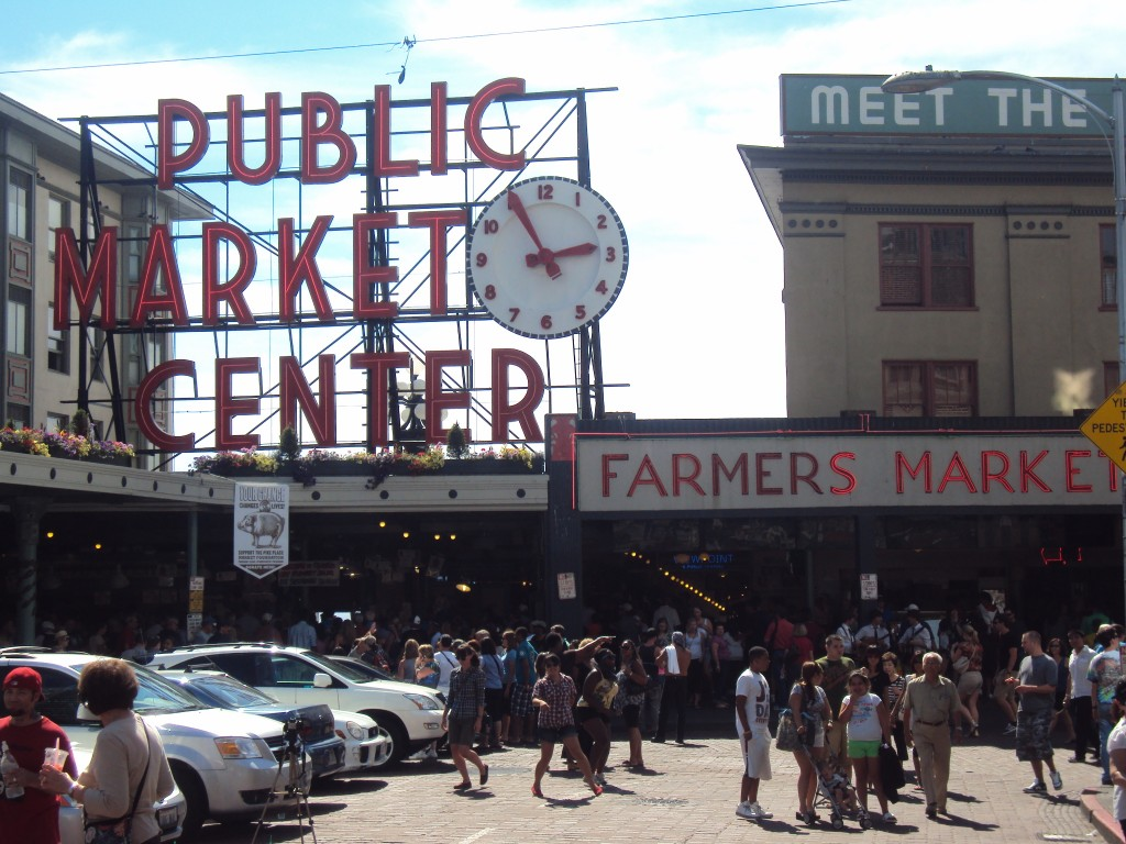 Pikes Place Public Market, Seattle, WA